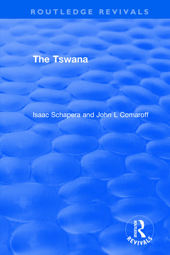 The Tswana book cover