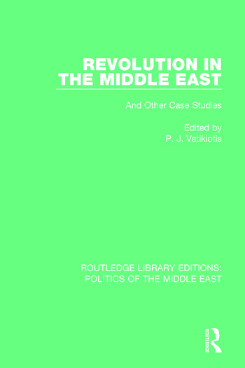 Revolution in the Middle East book cover