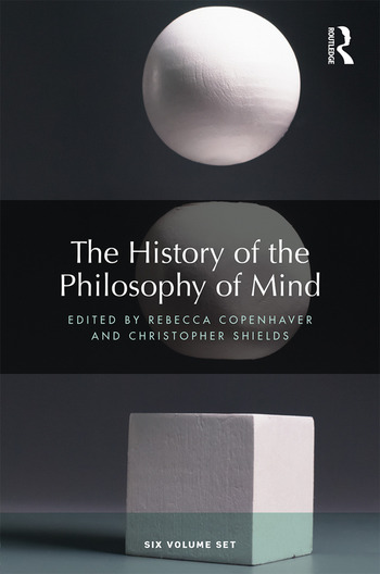 The History of the Philosophy of Mind Six volume set book cover