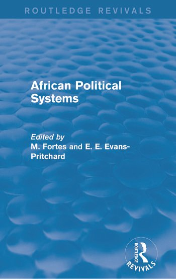 African Political Systems book cover