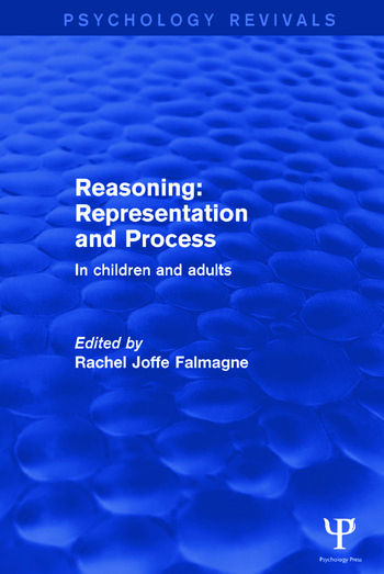 Reasoning: Representation and Process In Children and Adults book cover