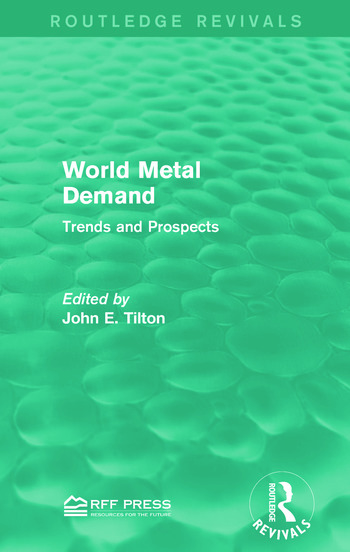 World Metal Demand Trends and Prospects book cover