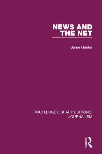 News and the Net book cover