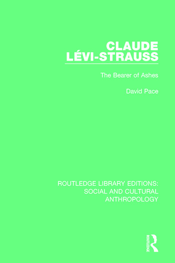 Claude Levi-Strauss The Bearer of Ashes book cover