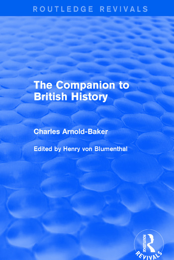 The Companion to British History book cover