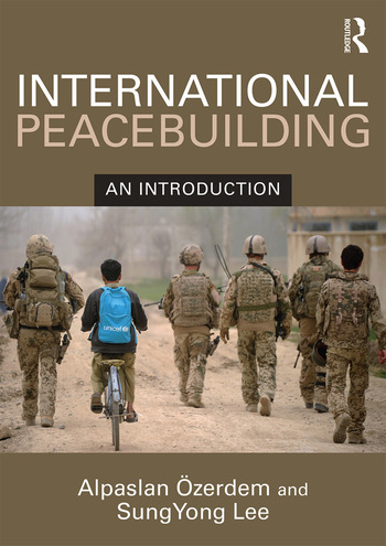 International Peacebuilding An introduction book cover