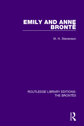 Emily and Anne Brontë book cover