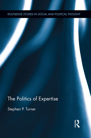 The Politics of Expertise book cover