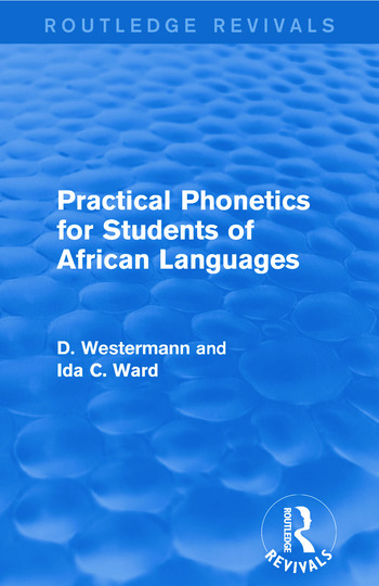Practical Phonetics for Students of African Languages book cover