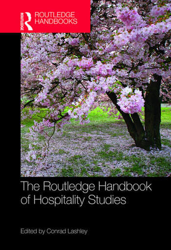 The routledge handbook of hospitality studies hardback routledge fandeluxe Images