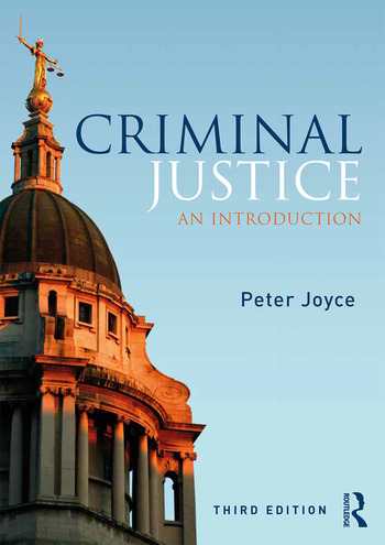 Criminal Justice An Introduction book cover