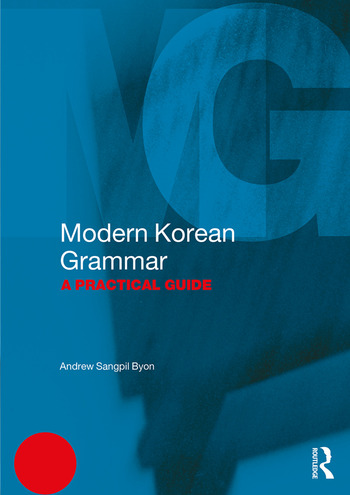 Modern Korean Grammar A Practical Guide book cover