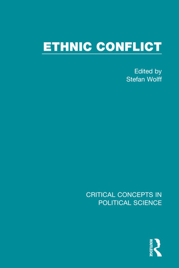 Ethnic Conflict book cover