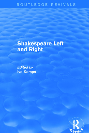 Shakespeare Left and Right book cover