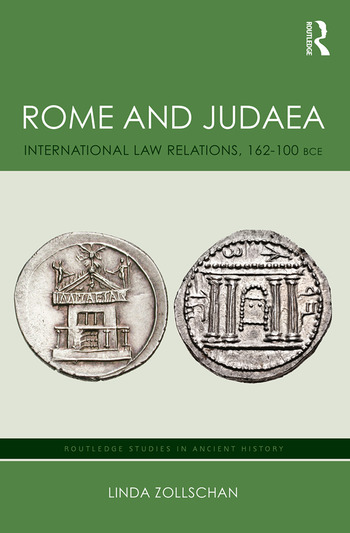 Rome and Judaea International Law Relations, 162-100 BCE book cover