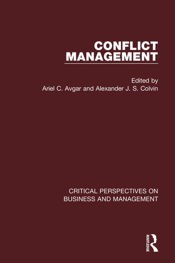 Conflict Management book cover