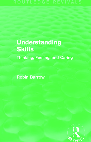 Understanding Skills Thinking, Feeling, and Caring book cover