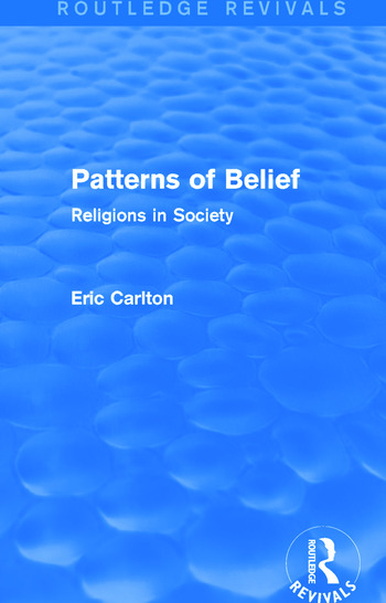 Patterns of Belief Religions in Society book cover