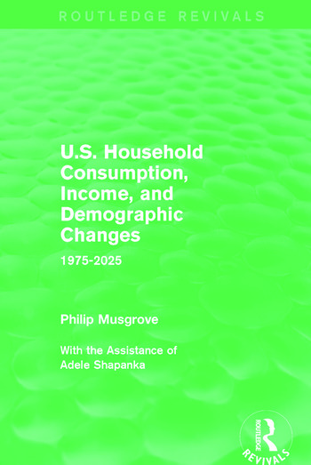 U.S. Household Consumption, Income, and Demographic Changes 1975-2025 book cover