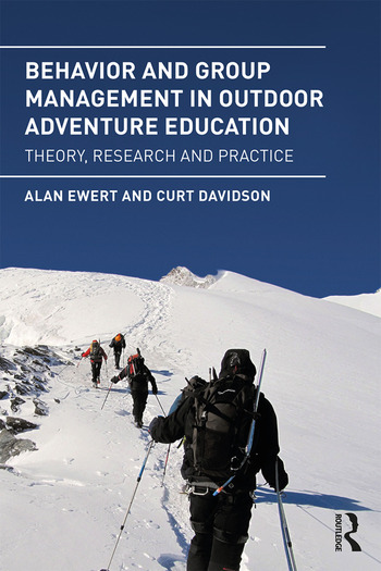 Behavior and Group Management in Outdoor Adventure Education Theory, research and practice book cover