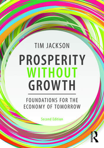 Prosperity without Growth Foundations for the Economy of Tomorrow book cover
