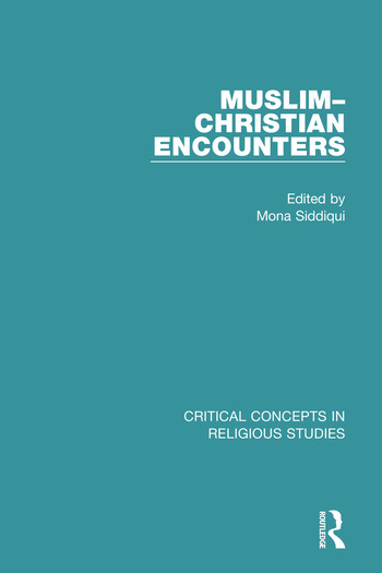 Muslim-Christian Encounters book cover