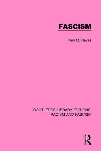 Fascism book cover