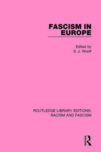 Fascism in Europe book cover