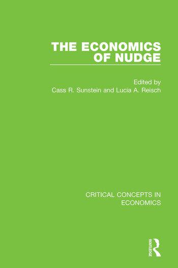 The Economics of Nudge book cover