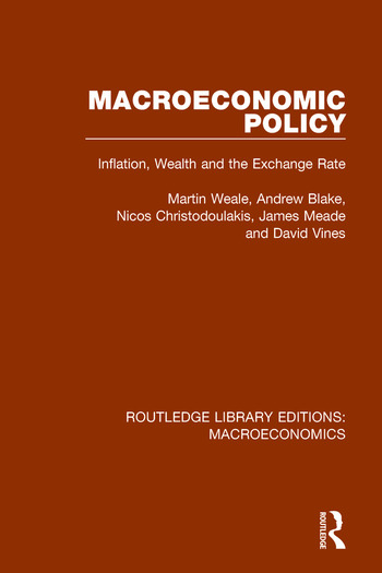 Macroeconomic Policy Inflation, Wealth and the Exchange Rate book cover