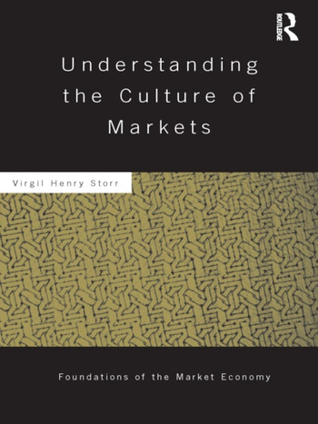 Understanding the Culture of Markets book cover