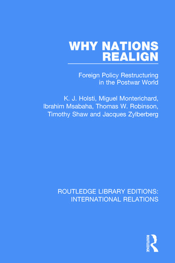 Why Nations Realign Foreign Policy Restructuring in the Postwar World book cover
