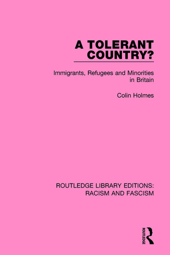A Tolerant Country? Immigrants, Refugees and Minorities book cover