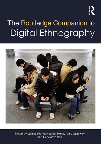The Routledge Companion to Digital Ethnography book cover