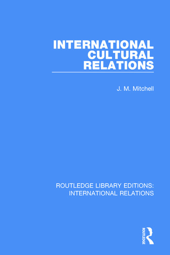 International Cultural Relations book cover