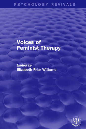 Voices of Feminist Therapy book cover