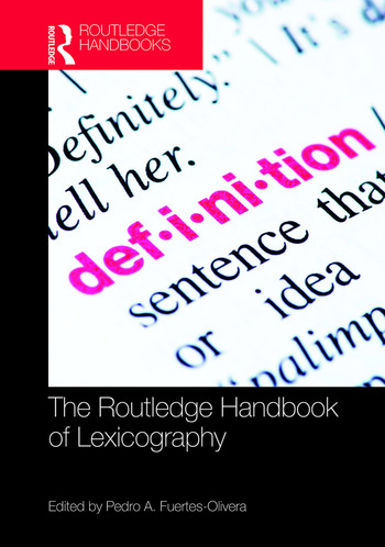 The Routledge Handbook of Lexicography book cover