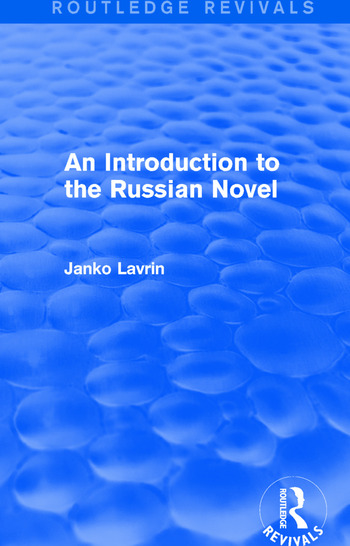 An Introduction to the Russian Novel book cover