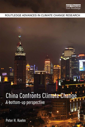 China Confronts Climate Change A bottom-up perspective book cover
