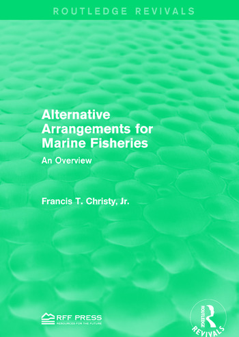 Alternative Arrangements for Marine Fisheries An Overview book cover
