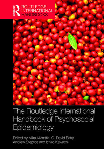 The Routledge International Handbook of Psychosocial Epidemiology book cover