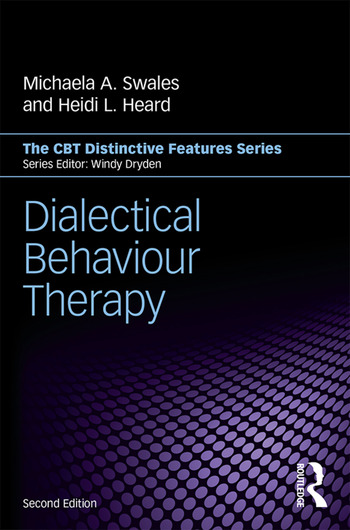 Dialectical Behaviour Therapy Distinctive Features book cover
