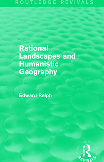 Rational Landscapes and Humanistic Geography book cover