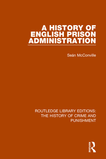 A History of English Prison Administration book cover