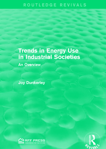 Trends in Energy Use in Industrial Societies An Overview book cover
