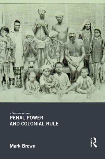 Penal Power and Colonial Rule book cover
