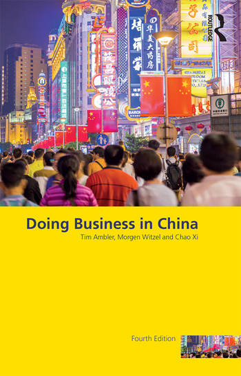 Doing Business in China book cover