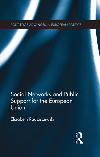 Social Networks and Public Support for the European Union book cover