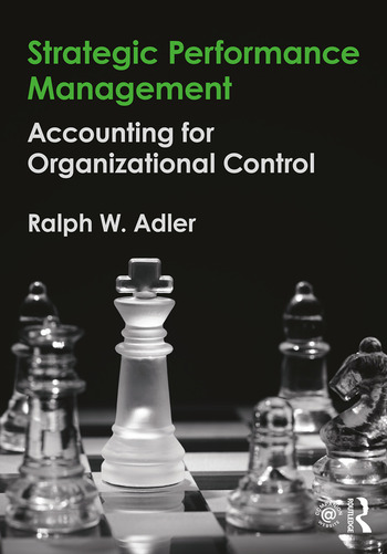 Strategic Performance Management Accounting for Organizational Control book cover