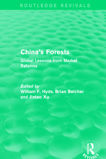 China's Forests Global Lessons from Market Reforms book cover